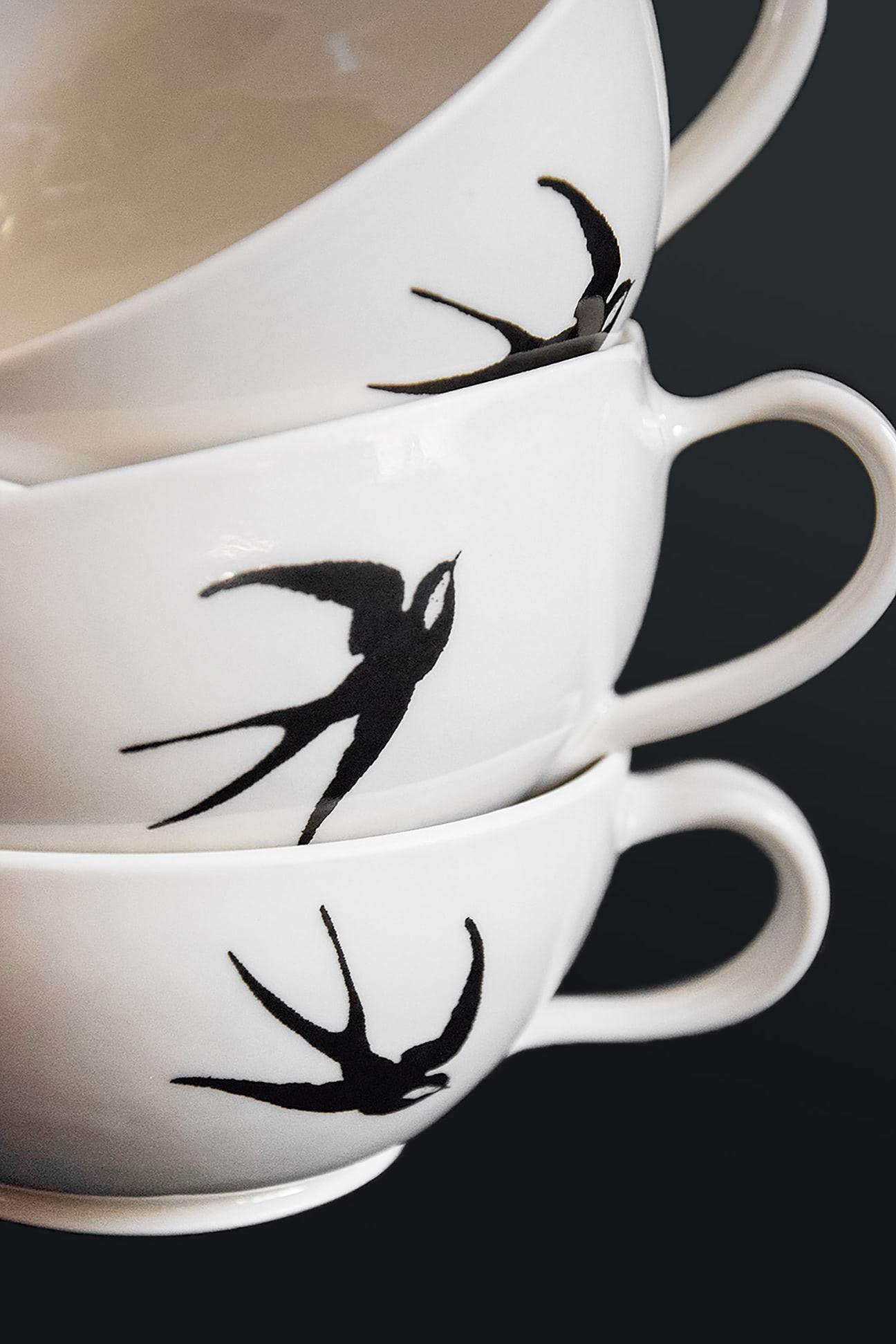 Hochzeit Teetassen