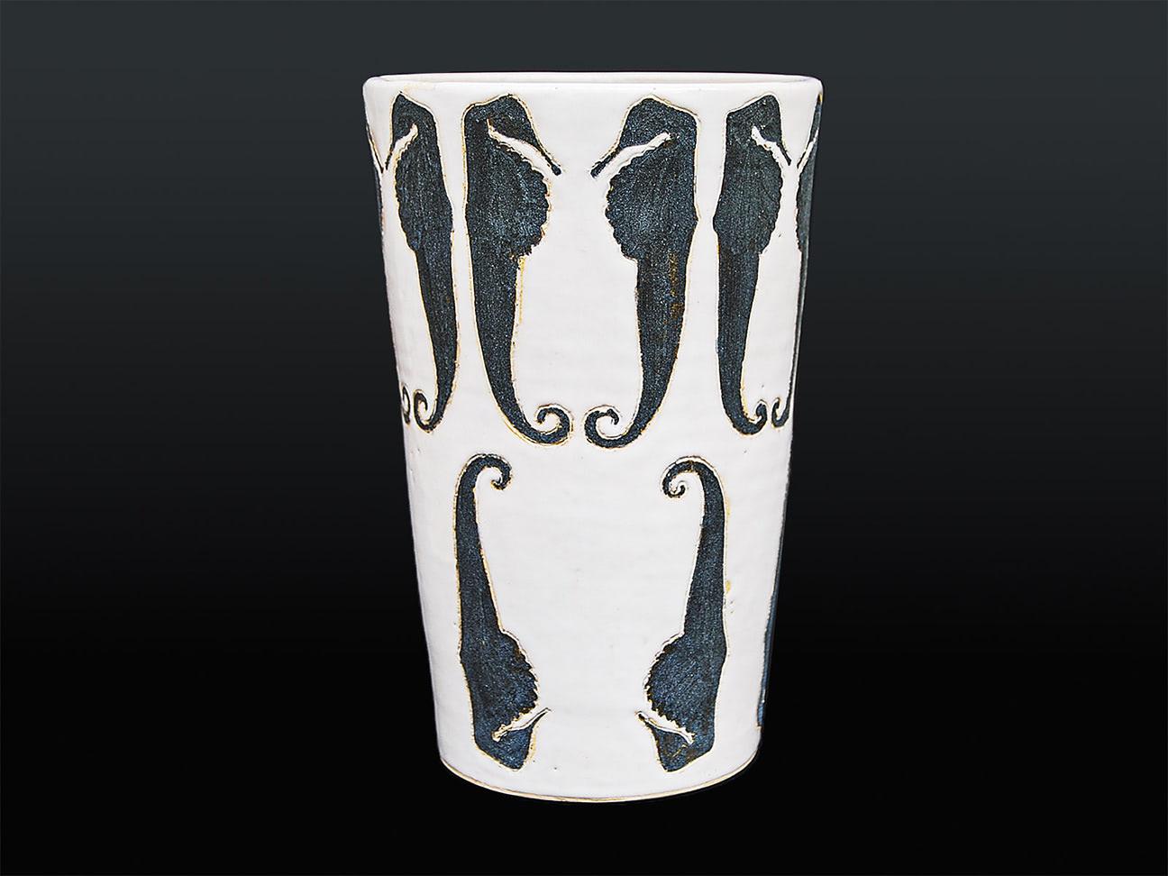 Vase Seepferd